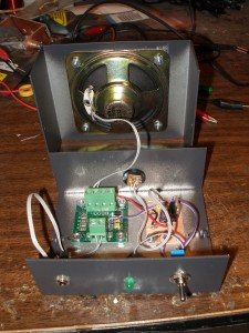 Audio Amplifier Guts