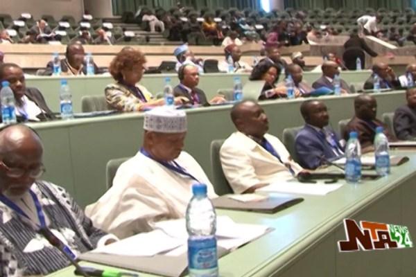 ECOWAS Parliamentarians Present Common Front   NTA.ng ...