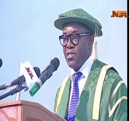 Dr. Ibe Kachikwu at the UNN 45th Convocation