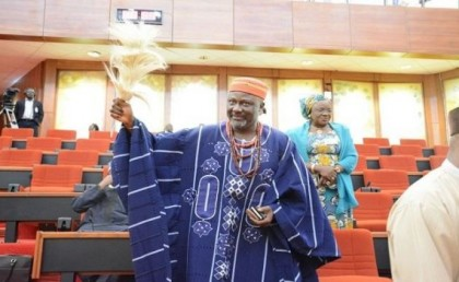 Senator Dino Melaye Escapes Assassins Bullets In Hometown, Ayetoro-Gbede in Kogi State