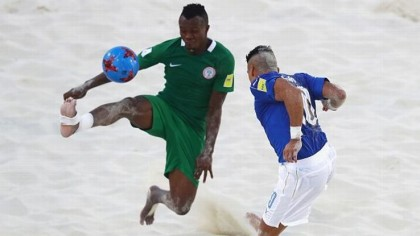 Hope Revived! Nigeria Defeats Mexico in Beach Soccer World Cup