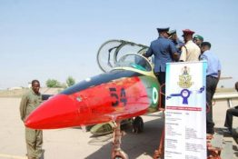 Image result for Nigerian Airforce graduates combat ready Pilots