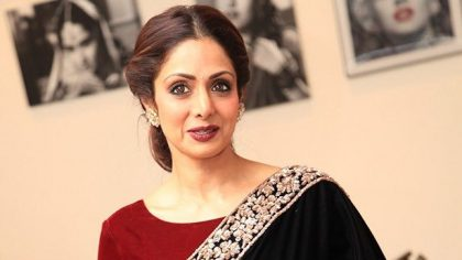 Bollywood Female Actress Sridevi Passes Away