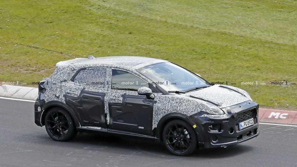 Ford Puma ST spy photo