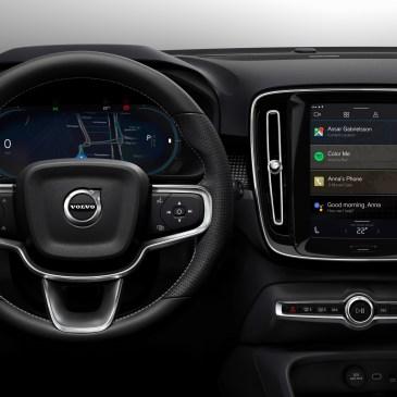 Το ολοκαίνουργιο φούλ ηλεκτρικό Volvo XC40, επαναπροσδιορίζει τα πράγματα στην διασκέδαση και επιλέγει Android!