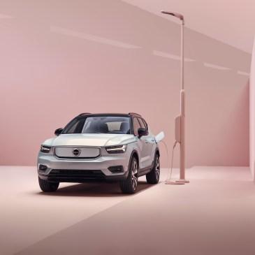 Η Volvo Cars εγκαινιάζει το πλήρως ηλεκτρικό Volvo XC40.