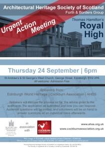 RHS meeting flyer