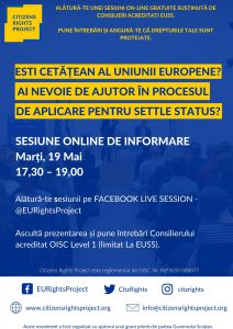 EU citizens rights project in Romanian