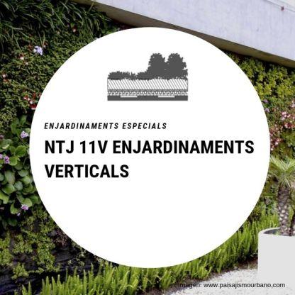 NTJ 11V Enjardinaments verticals