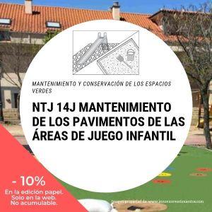 NTJ 14J MANTENIMIENTO DE PAVIMENTOS EN LAS AREAS DE JUEGO INFANTIL