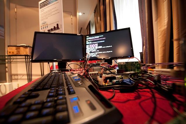 Intel demo setup