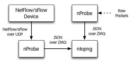 Best Practices for the Collection of Flows with ntopng and nProbe