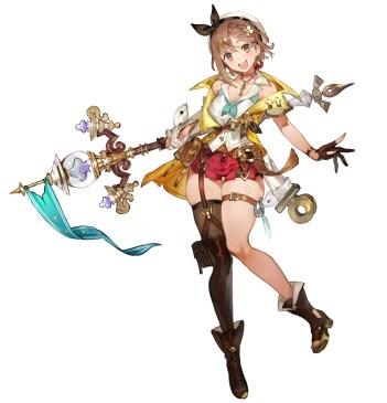 Dieses Bild zeigt Ryza aus Atelier Ryza 2.