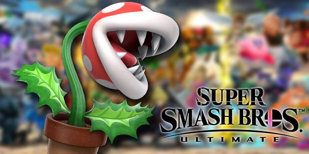Piranha Pflanze Als Frhkufer Bonus In Super Smash Bros Ultimate Erhltlich Ntower