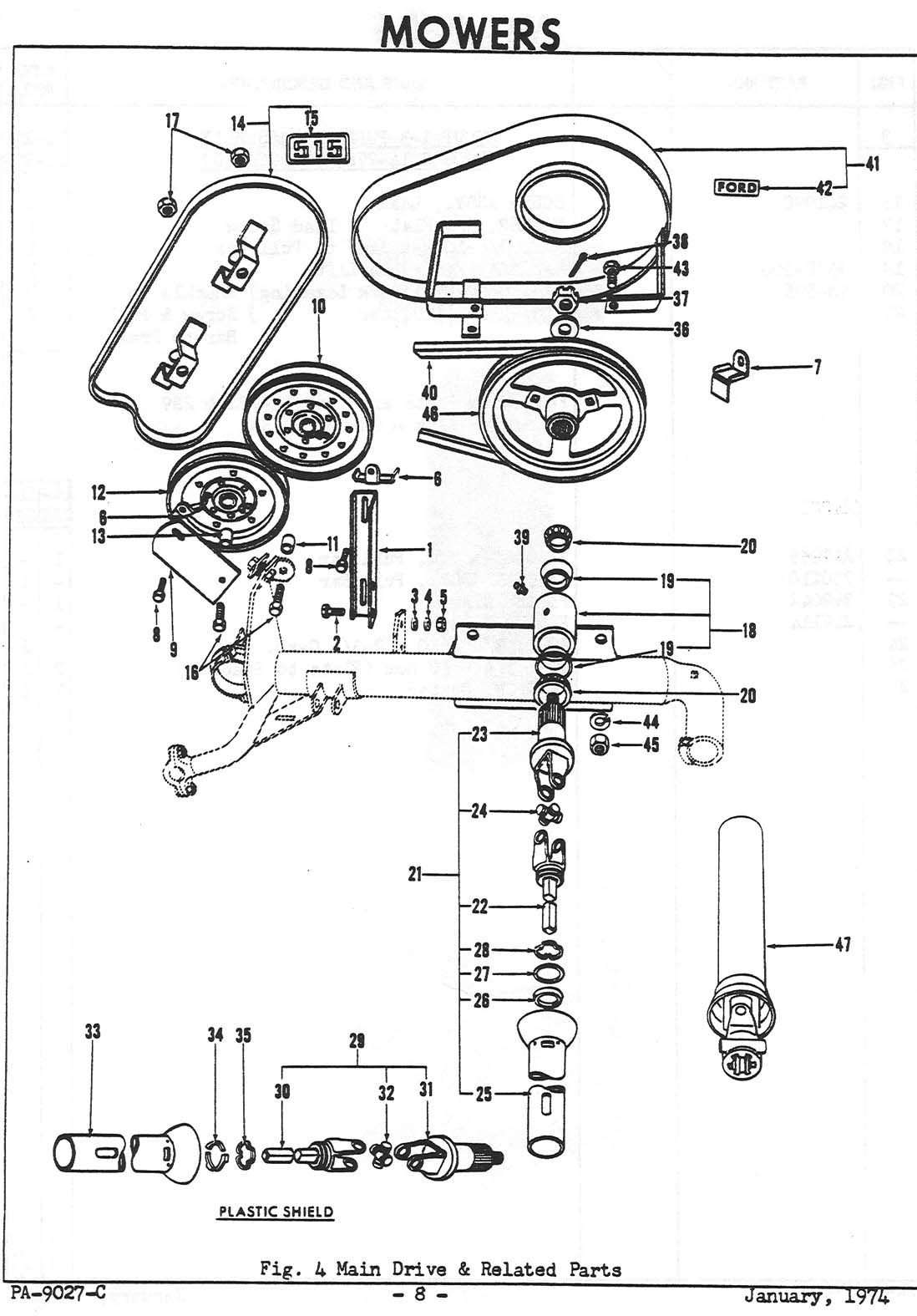 Main Drive Amp Related Parts 3 Pages