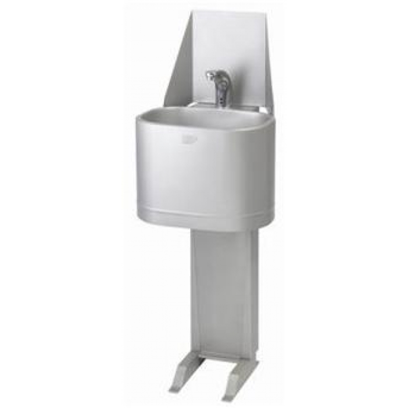 stainless steel free standing hand wash