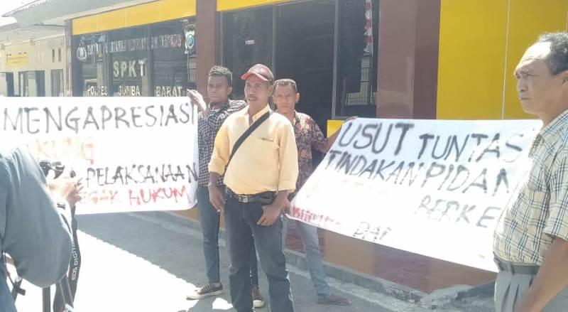 Formas Dukung Polisi dan Desak Jaksa Tahan Kembali TSK Bimtek Dana Desa SBD