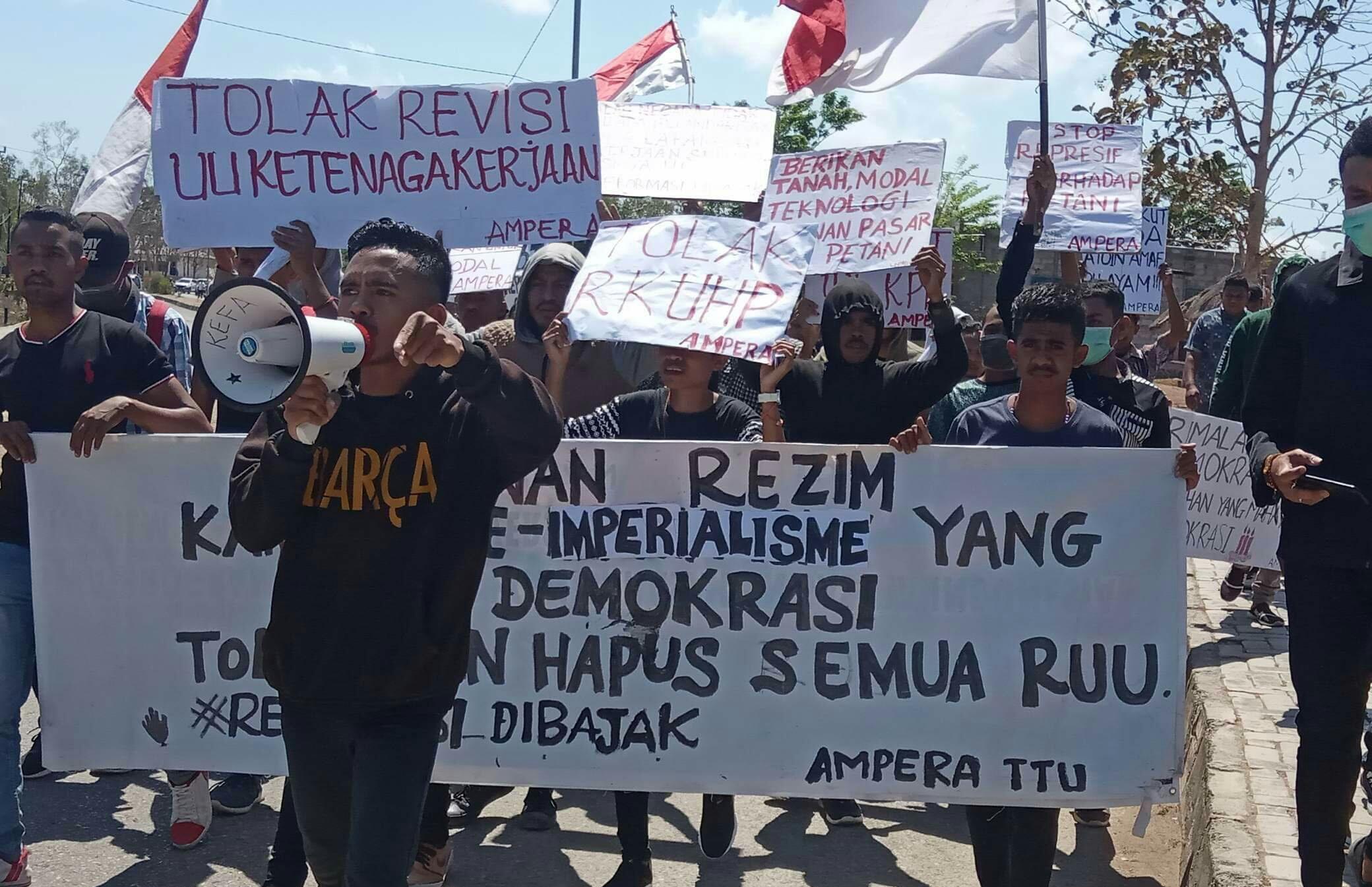 AMPERA Minta DPRD TTU Selesaikan Persoalan Sertifikat Tanah di Ponu