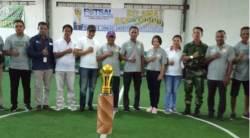 Bupati SBD Resmi Buka Turnamen Futsal Sumba Hijau