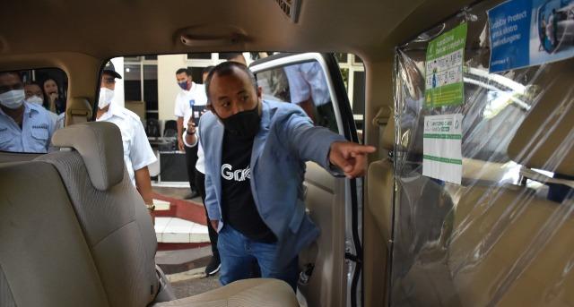 Walikota Launching GrabCar Protect Kupang