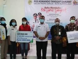 BPJamsostek Serahkan Bantuan dan Santunan Kepada Ahli Waris Non ASN Pemkot Kupang