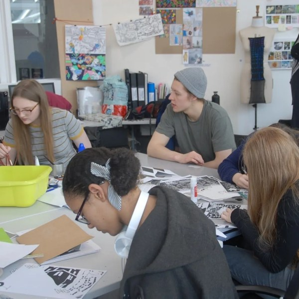 Saturday Art & Design Club* – Meet our Student Ambassadors: Jonathan