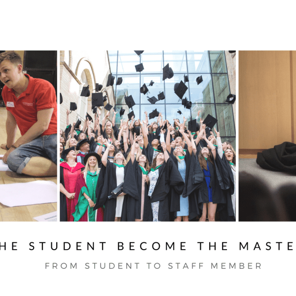 How the student became the master: Working for NTU
