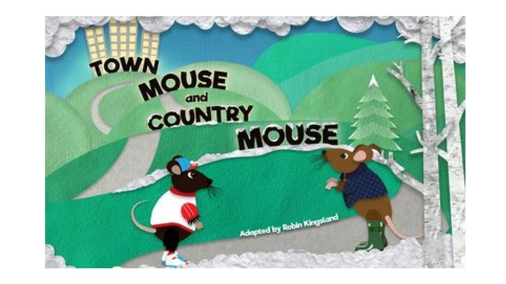 Town Mouse and Country Mouse poster for Playhouse