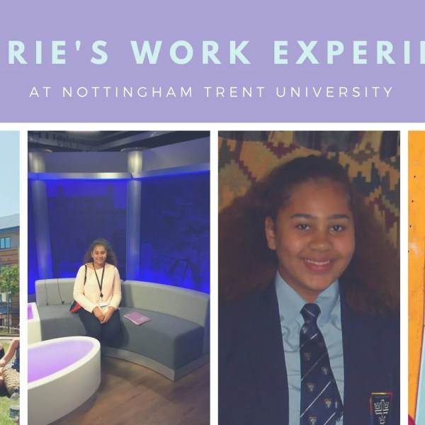 Dorrie's work experience at Nottingham Trent University