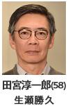 田宮淳一郎(58) 生瀬勝久