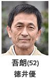 赤池吾朗(52) 徳井優