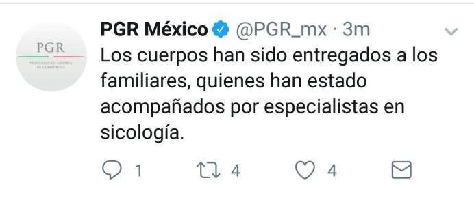 PGR Comunicado