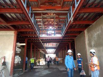 Interior del nuevo Mercado Morelos