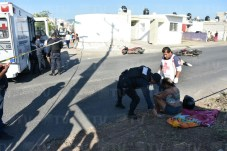 Fallece mujer tras accidente de motos en Tepic2