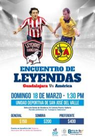 LEYENDAS CHIVAS AMERICA 18 MZO PREVIA CARTEL