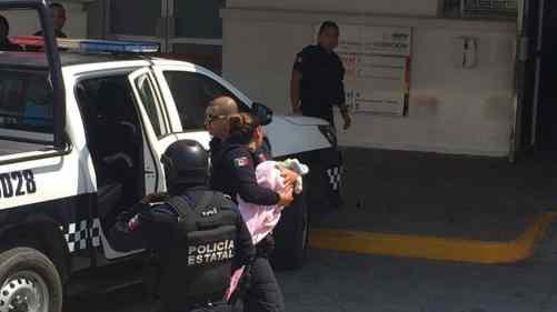 Roban bebé de hospital en Veracruz