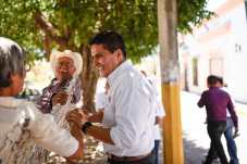 Extraordinaria muestra de apoyo a Pavel Jarero en Santiago Ixcuintla