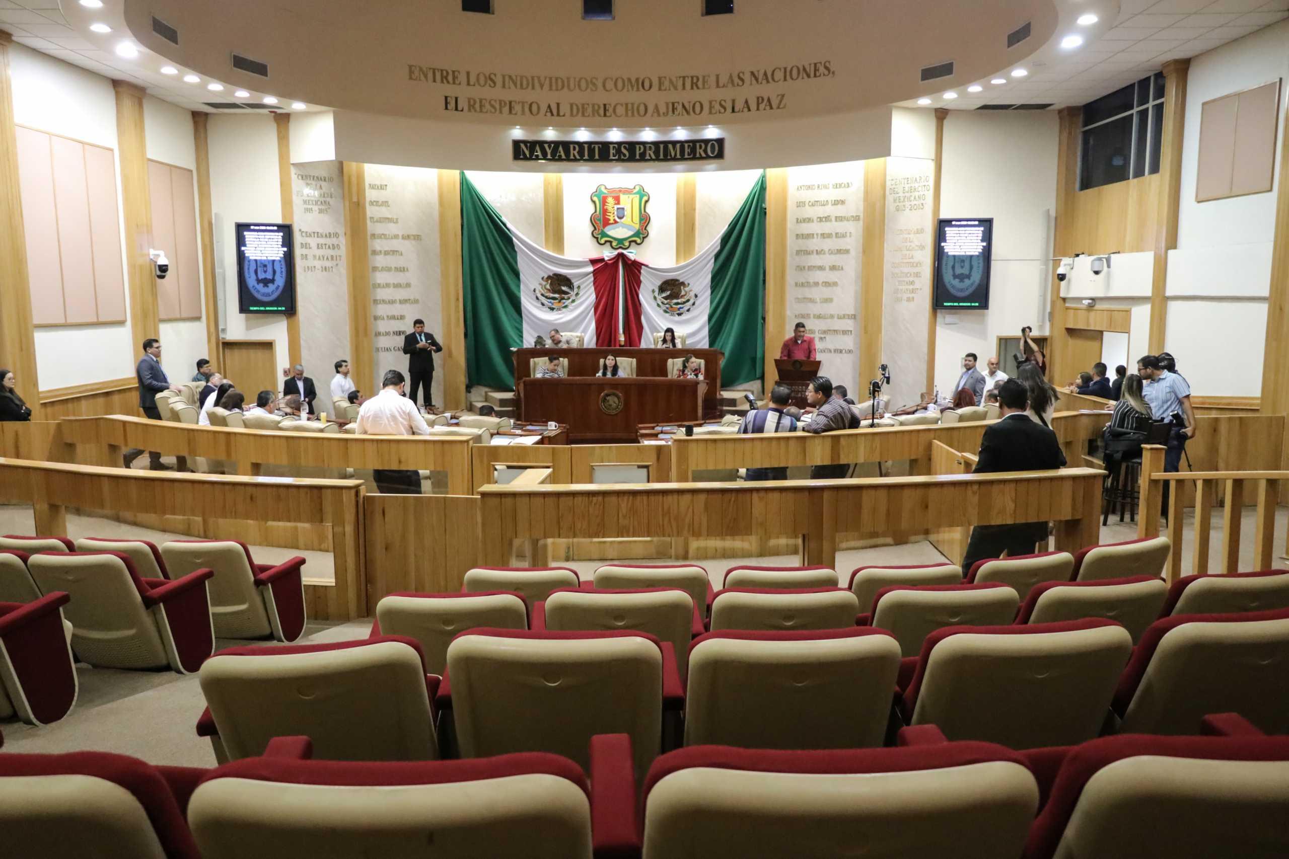 Suspende Congreso de Nayarit las Sesiones Públicas Ordinarias - NTV