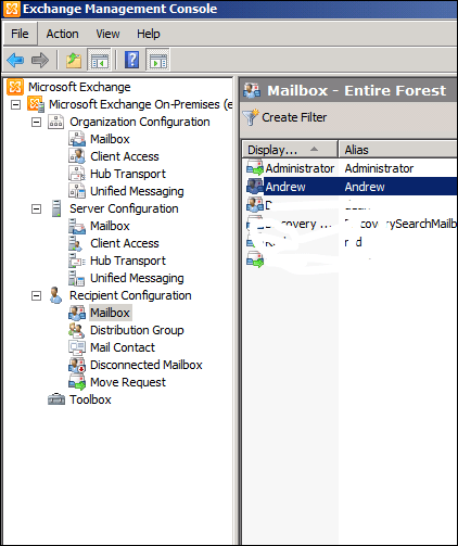 Question:How To View A User Mailbox Size In Exchange Server 2010 (1/4)