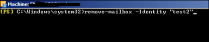 Question:How To Delete A User Mailbox Only In Exchange Server 2010 (6/6)