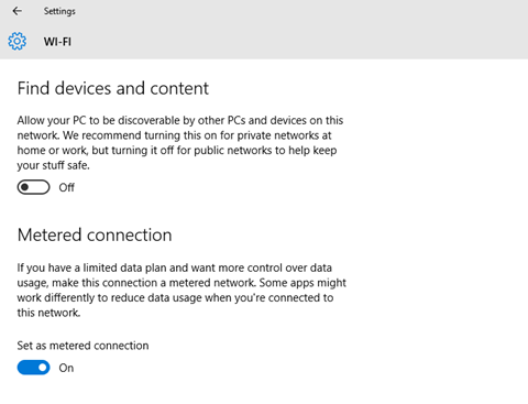 How To Disable Metered Connection Windows 10 - Azure and DevOps Blog
