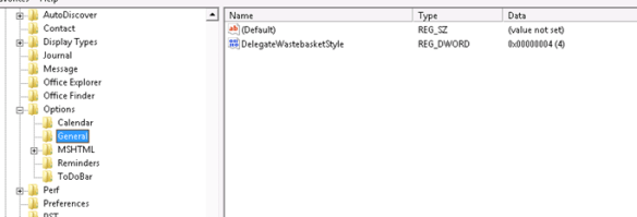Sent Items And Deleted Items Behavior In Shared Mailbox