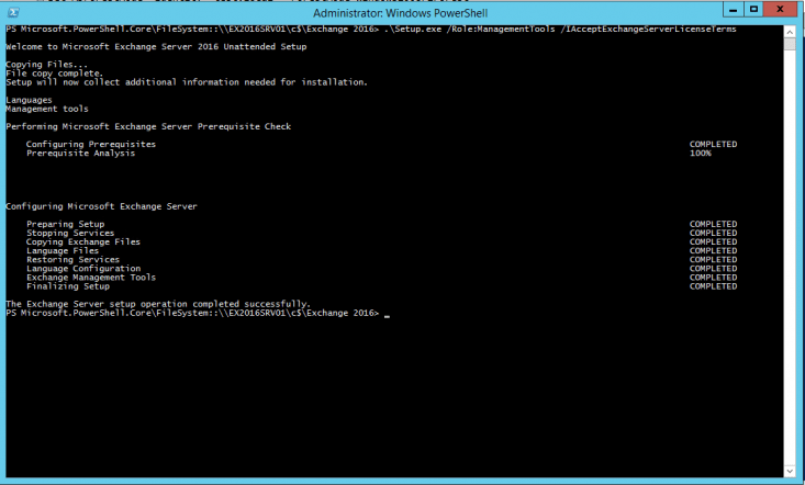 install iis 6 management console powershell