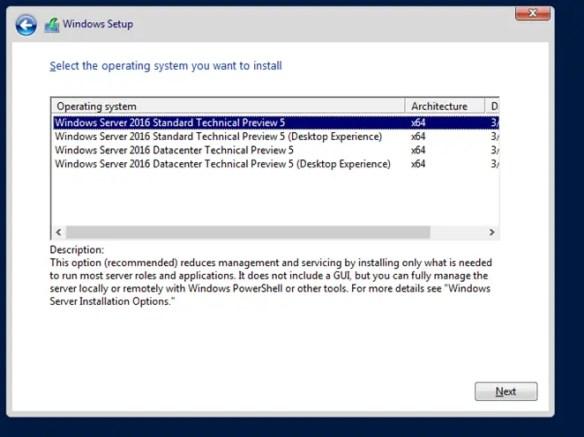 Windows Server 2016 GUI Vs Core Interface Explained - Cloud