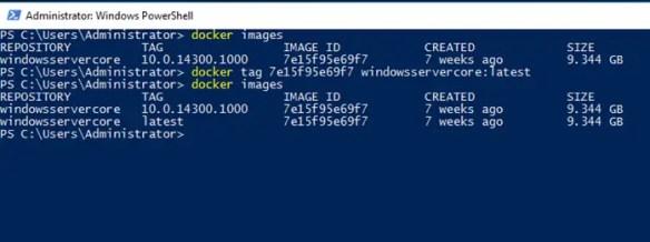 Setup Windows Server Core 2016 As A Container Host - Cloud