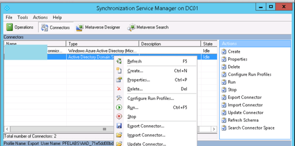 Add Or Exclude OU From Azure Active Directory Connect To