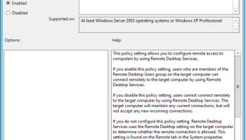 How To Set Group Policy To log Off Remote Desktop Session