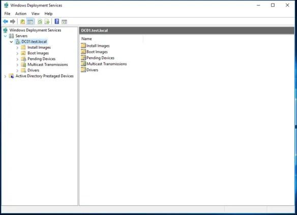 Configure Windows Deployment Services On Windows Server 2016 - Cloud