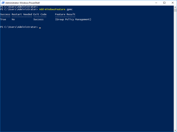 Manage Group Policy Using PowerShell On Windows Server 2016