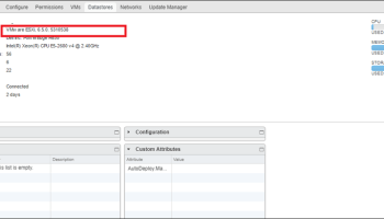 Question: How To Check VMware ESX or ESXi Version and Build